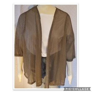 Catherine's Kimono Jacket Plus Sz 3X